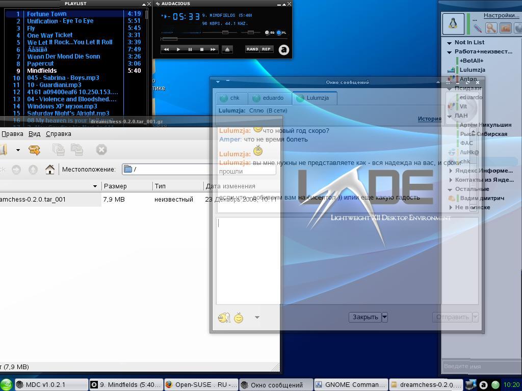 LXDE + compiz